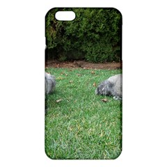 2 Standard Schnauzers Iphone 6 Plus/6s Plus Tpu Case