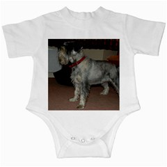 Standard Schnauzer Full Infant Creepers