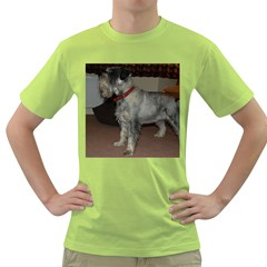 Standard Schnauzer Full Green T Shirt