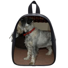 Standard Schnauzer Full School Bag (small)