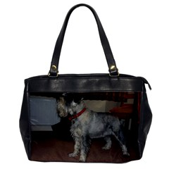 Standard Schnauzer Full Office Handbags