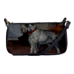 Standard Schnauzer Full Shoulder Clutch Bags
