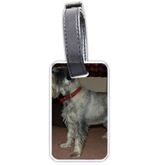 Standard Schnauzer Full Luggage Tags (one Side)