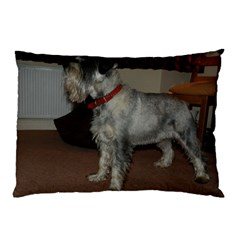 Standard Schnauzer Full Pillow Case (two Sides)