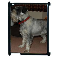 Standard Schnauzer Full Apple Ipad 2 Case (black)