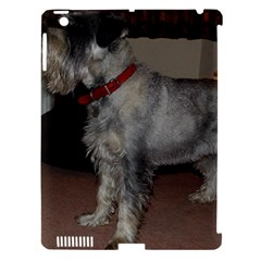 Standard Schnauzer Full Apple Ipad 3/4 Hardshell Case (compatible With Smart Cover)