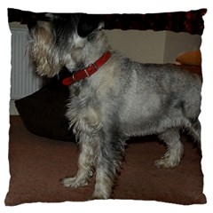 Standard Schnauzer Full Large Cushion Case (two Sides)