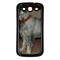 Standard Schnauzer Full Samsung Galaxy S3 Back Case (black)