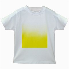 Ombre Kids White T Shirts