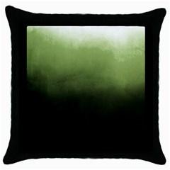 Ombre Throw Pillow Case (black)