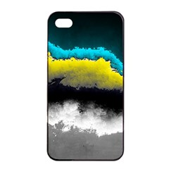 Ombre Apple Iphone 4/4s Seamless Case (black)