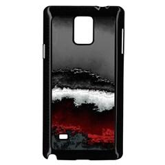 Ombre Samsung Galaxy Note 4 Case (black)