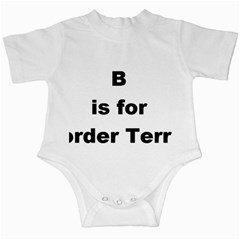 B Is For Border Terrier Infant Creepers