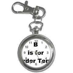 B Is For Border Terrier Key Chain Watches