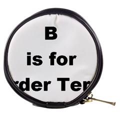 B Is For Border Terrier Mini Makeup Bags