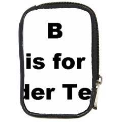 B Is For Border Terrier Compact Camera Cases