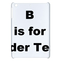 B Is For Border Terrier Apple Ipad Mini Hardshell Case