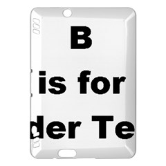 B Is For Border Terrier Kindle Fire Hdx Hardshell Case