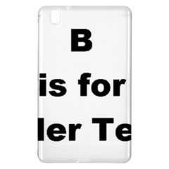 B Is For Border Terrier Samsung Galaxy Tab Pro 8 4 Hardshell Case