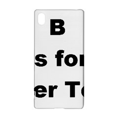 B Is For Border Terrier Sony Xperia Z3+