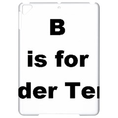 B Is For Border Terrier Apple Ipad Pro 9 7   Hardshell Case