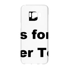 B Is For Border Terrier Samsung Galaxy S8 Hardshell Case