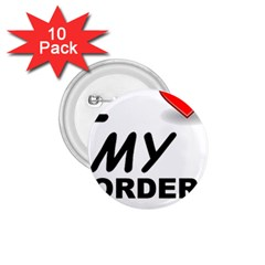 Border Terrier Love 1 75  Buttons (10 Pack)