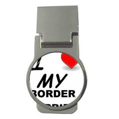 Border Terrier Love Money Clips (round)