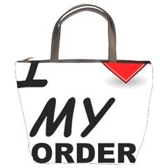 Border Terrier Love Bucket Bags