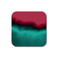 Ombre Rubber Square Coaster (4 Pack)