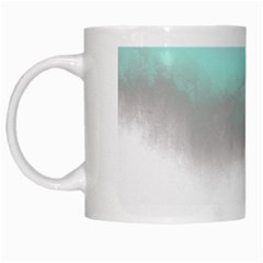 Ombre White Mugs