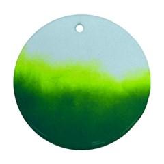 Ombre Ornament (round)