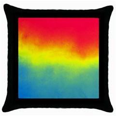 Ombre Throw Pillow Case (black)