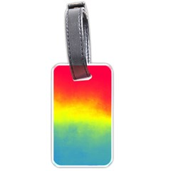 Ombre Luggage Tags (one Side)