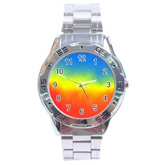 Ombre Stainless Steel Analogue Watch