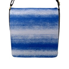 Ombre Flap Messenger Bag (l)