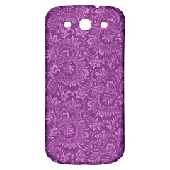 Floral Pattern Samsung Galaxy S3 S Iii Classic Hardshell Back Case