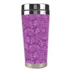 Floral Pattern Stainless Steel Travel Tumblers