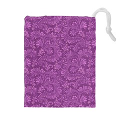 Floral Pattern Drawstring Pouches (extra Large)