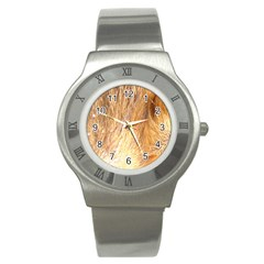 Nova Scotia Duck Tolling Retriever Eyes Stainless Steel Watch