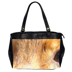 Nova Scotia Duck Tolling Retriever Eyes Office Handbags (2 Sides)