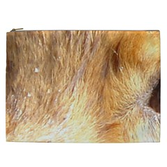 Nova Scotia Duck Tolling Retriever Eyes Cosmetic Bag (xxl)