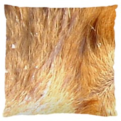 Nova Scotia Duck Tolling Retriever Eyes Standard Flano Cushion Case (two Sides)
