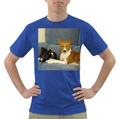 2 Basenjis Dark T Shirt