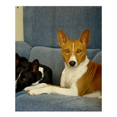 2 Basenjis Shower Curtain 60  X 72  (medium)
