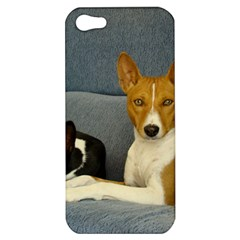 2 Basenjis Apple Iphone 5 Hardshell Case