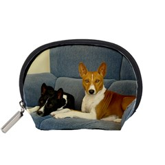 2 Basenjis Accessory Pouches (small)