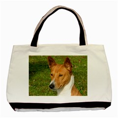 Basenji 2 Basic Tote Bag