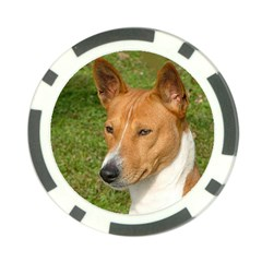 Basenji 2 Poker Chip Card Guard