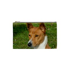 Basenji 2 Cosmetic Bag (small)